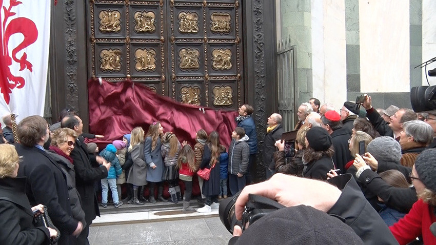 The+North+Door+is+back+-+Frilli+Gallery+casting+the+replicas+to+the+North+Door+of+the+Florence+Baptistery+by+Lorenzo+Ghiberti