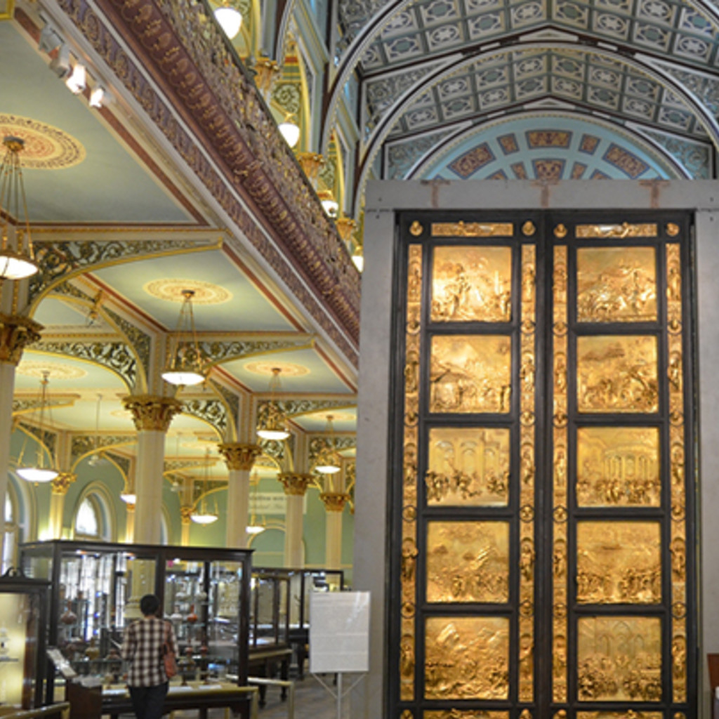 Gates of Paradise at the Doctor Bau Daji Lad Museum - Mumbai - India