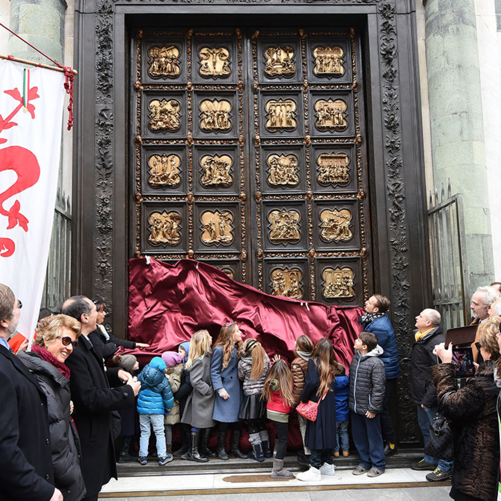 North Door unveiling - January 2016