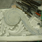 Marble frieze for fireplace - Frilli Gallery Marble Studio