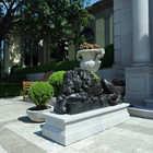 Resting Lion by Canova - lost wax bronze casting - Private residence , Buenos Aires, Argentina