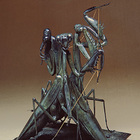 The Parcae (Three Fates) by Anne Shingleton - bronze